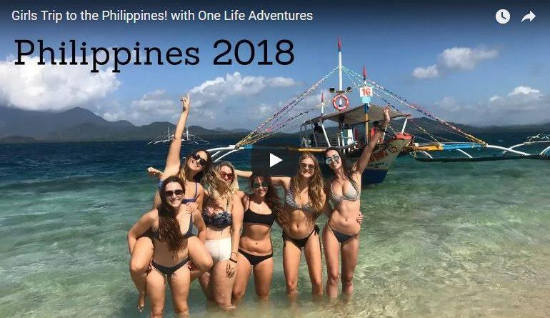 Die Philippinen im Video - Gruppe Mädels bereist die Philippinen