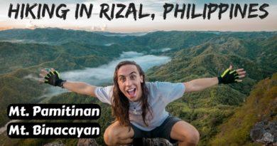 Die Philippinen im Video - Gipfelbesteigung mit Filipinos in Rizal