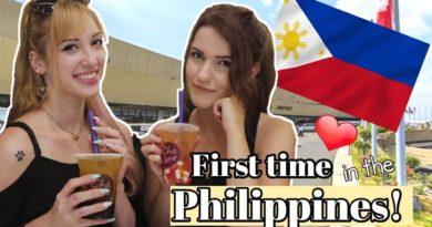 Die Philippinen im Video - Ungarin zum ersten Mal in den Philippinen