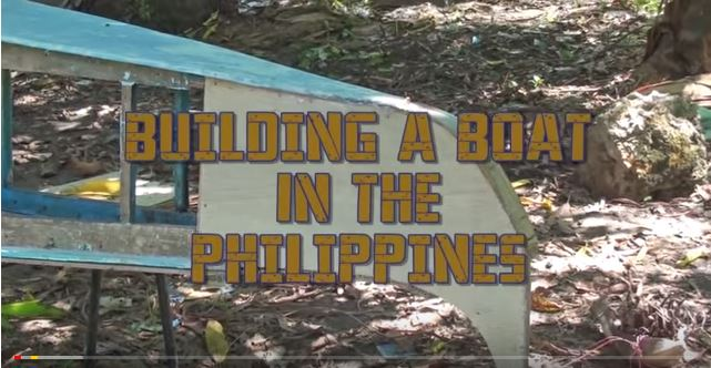 Die Philippinen im Video - Bootsbau in den Philippinen