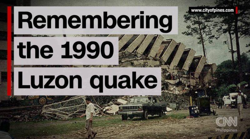 Erinnerungen an das Luzon-Erdbeben 1990