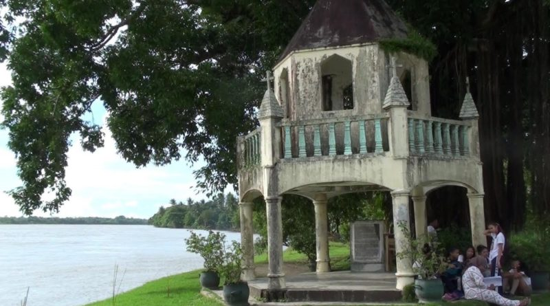 Die Philippinen im Video - Banza Kirchenruine & Balangay Boote in Butuan