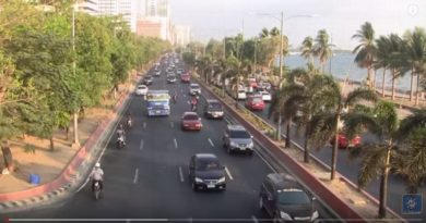 Die Philippinen im Video - Baywalk am Roxas Boulevard Manila 2018