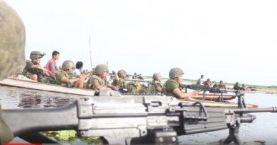 Die Philippinen im Video - Militär- und Polizei Kampfhandlungen in den Liguasan Sümpfen
