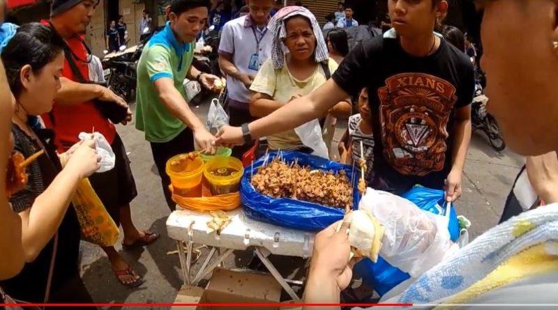 Die Philippinen im Video - Straßenhändler & Straßenküche am Cogon Markt in der Stadt Cagayan de Oro Foto und Video: Sir Dieter Sokoll KR