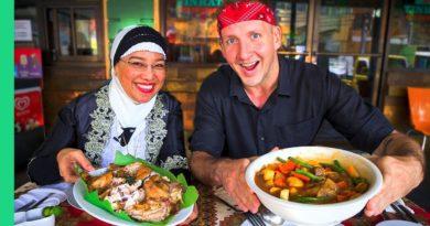 Die Philippinen im Video - Filipino Halal Essen in Davao
