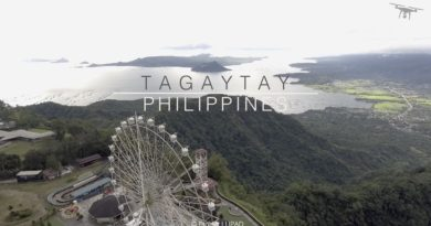 Die Philippinen im Video - Tagaytay in Batangas aus der Luft