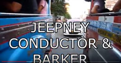 Die Philippinen im Video - Jeepney Conductors & Barker Foto & Video: Sir Dieter Sokoll KR