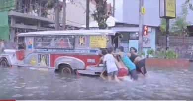 Die Philippinen im Video - Wenn es regnet, kommt die Überschwemmung