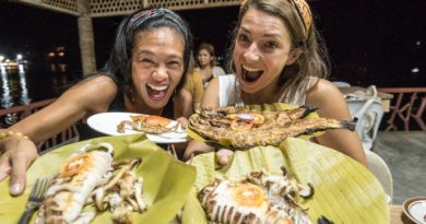 Die Philippinen im Video - Seafood-Festessen in Camiguin