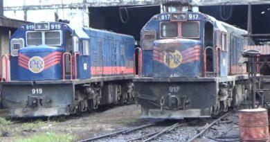 Die Philippinen im Video - Auf dem Bahnbetriebswerk in Tutuban in Manila