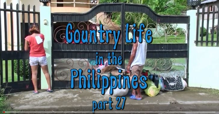 Die Philippinen im Lande - Leben auf dem Lande - Teil 27