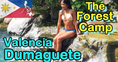 Die Philippinen im Video - Zwei Girls besuchen das Forest Camp in Valencia, bei der Stadt Dumaguete