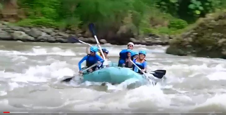 Die Philippinen im Video - Water Rafting in Cagayan de Oro Erlebnis