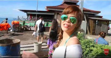 Die Philippinen im Video - Am pink Strand von Zamboanga