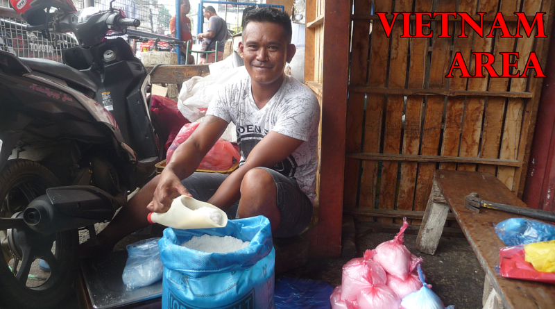 Die Philippinen im Video - Vietnam Area am Cogon Markt Foto & Video: Sir Dieter Sokoll KR