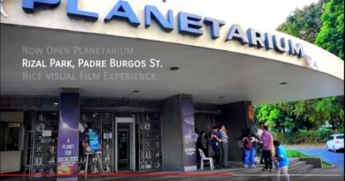 ie Philippinen im Video - Besuch im Rizal Park von Manila und dem Planetarium