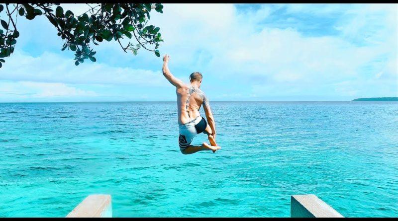 Die Philippinen im Video - Kliffspringen auf der Insel Siquijor