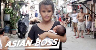 Die Philippinen im Video - Begegnung mit 15-jähriger Singel-Mutter