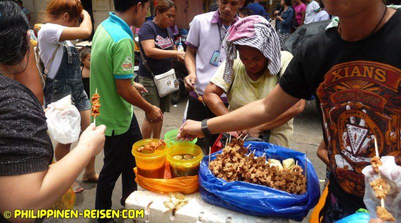 Die Philippinen im Video - Straßenhändler & Straßenimbisse Foto und Video von Sir Dieter Sokoll