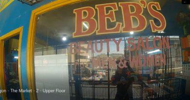 Die Philippinen im Video - Cogon - Der Markt - Zwei - 1. Stockwerk Foto und Video von Sir Dieter Sokoll