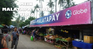 Die Philippinen im Video - Mein Malatapay Markt Video Bild und Video von Sir Dieter Sokoll