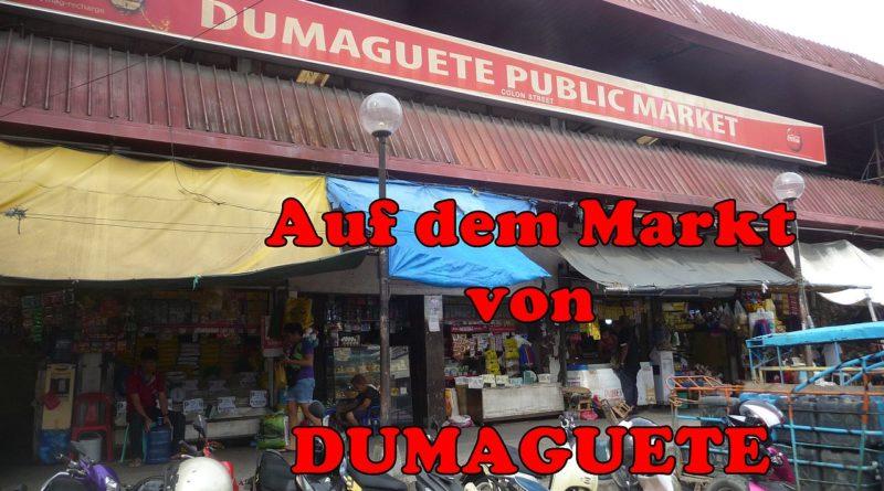 Die Philippinen im Video - Auf dem Markt von Dumaguete Foto und Video von Sir Dieter Sokoll