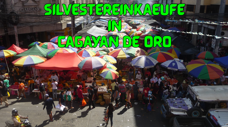 Die Philippinen im Video - Silvestereinkäufe in Cagayan de Oro Foto und Video von Sir Dieter Sokoll