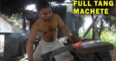 Die Philippinen im Video - Wie Macheten geschmiedet werden