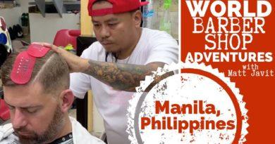 Die Philippinen im Video - Beim Barbier in Manila