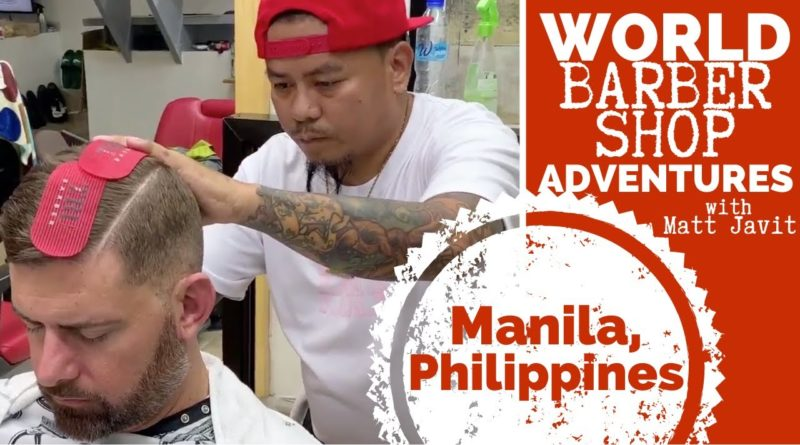Die Philippinen im Video - Beim Barbier in Manila
