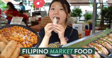 Die Philippinen im Video - Salcedo Feinschmecker-Markt in Makati