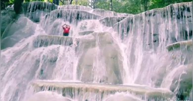 Die Philippinen im Video - Bezaubernde Kaparkan Wasserfälle in Abra