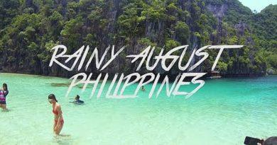 Die Philippinen im Video - Regnerischer August in den Philippinen 2016
