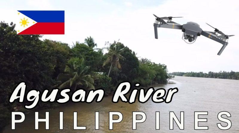 Die Philippinen im Video - Der Agusan Fluss mit der Drohne