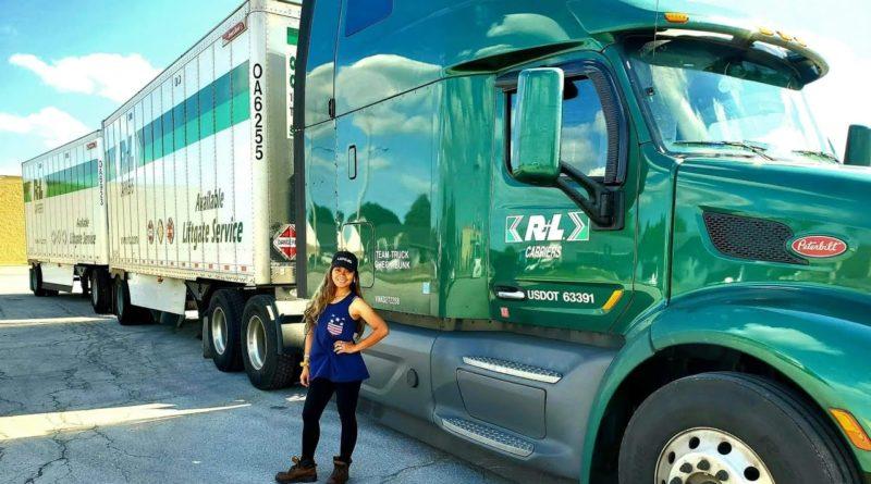 Die Philippinen im Video - Philippinische Truck-Fahrerin