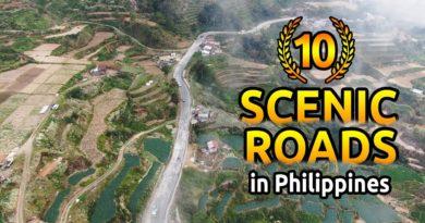 Die Philippinen im Video - 10 malerische Straßen in den Philippinen