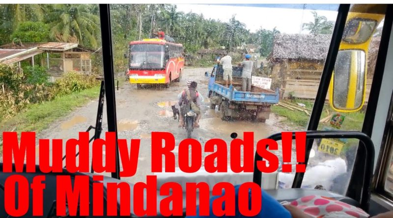 PHILIPPINEN MAGAZIN - Verschlammte Straßen in Mindanao
