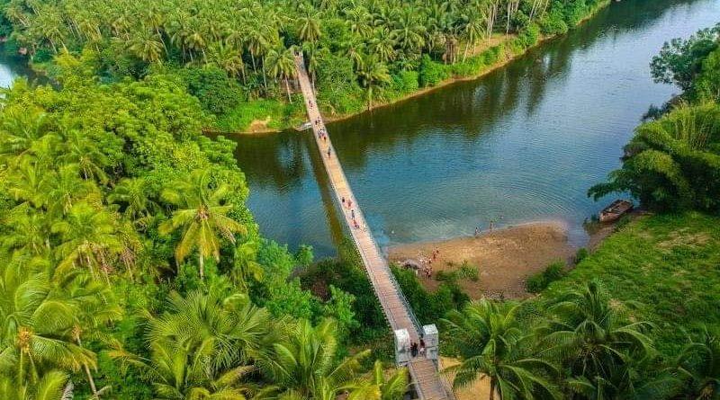 Die Philippinen im Video - Amazonas am Inabanga Fluss