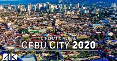 Die Philippinen im Video - Mit der Drohne über der Stadt Cebu - 2019