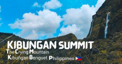 Die Philippinen im Video - Kibungan Gipfel - Der weinende Berg