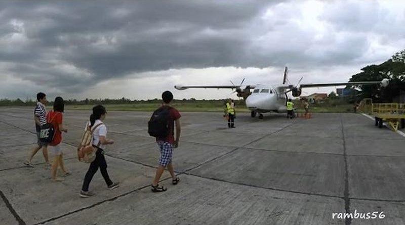 Die Philippinen im Video - Flug von Tuguegarao nach Palanan