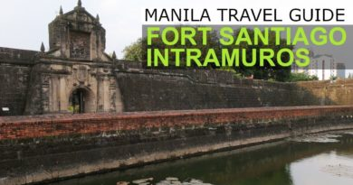Die Philippinen im Video - Videoführer durch Fort Santiago Intramuros