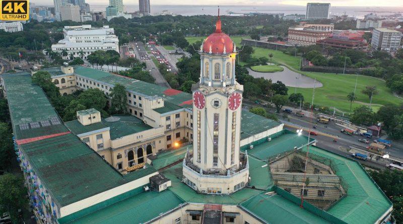 Die Philippinen im Video - Luftaufnahmen von Manila