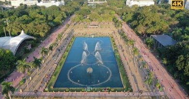 Die Philippinen im Video - Rizalpark aus der Luft