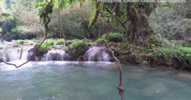 Die Philippinen im Video - Baggao Blue Water Wasserfälle und Höhle