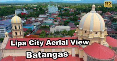 Die Philippinen im Video - Lipa City von oben gesehen