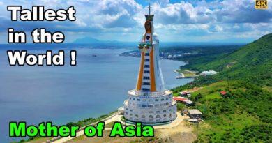 Die Philippinen im Video - Die größte Marienstatue in der Welt in Batangas