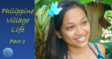 Die Philippinen im Video - Philippinisches Dorfleben - Teil 1