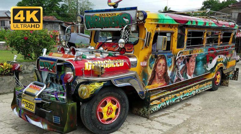 Die Philippinen im Video - Schön dekorierte und bemalte Jeepneys in Manila